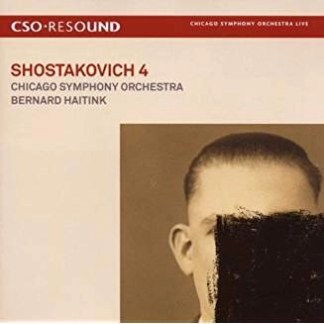 Shostakovich Symphony No. 4 – Bernard Haitink (2 CDs)