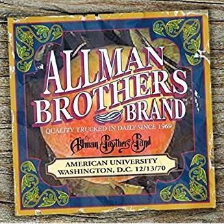 The Allman Brothers Band – American University 12-13-70