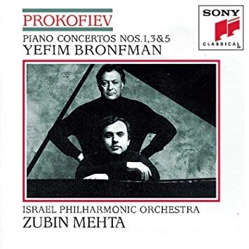 Prokofiev – Piano Concertos Nos. 1, 3 & 5 – Yefimn Bronfman, Zubin Mehta