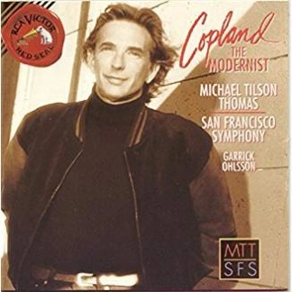 Aaron Copland – The Modernist (Indernt in rear of front artwork)