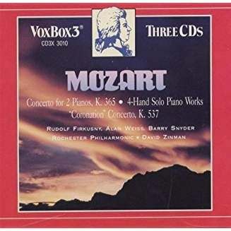Mozart –  4-Hand Piano Works; Concerti (3 CDs)