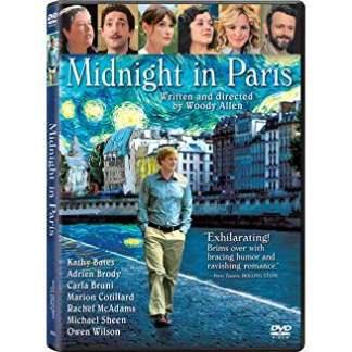 Midnight in Paris – A Woody Allen Film (DVD)