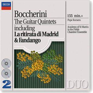 Boccherini – The Guitar Quintets – Pepe Romereo (2 CDs)