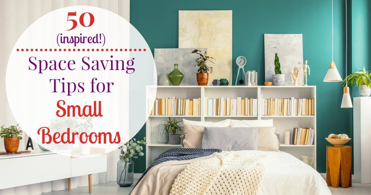 50 Small Bedroom Ideas and Incredibly Useful Space Saving Tips on Bedroom Ideas For Small Spaces  id=77138