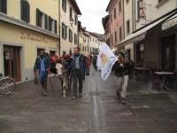 L'arrivo a Bagno di Romagna