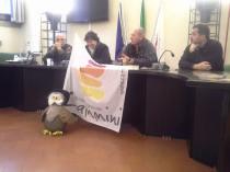 Conferenza stampa al Palazzo Vecchio