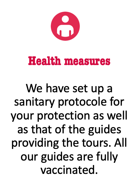 Health protocol guided tour