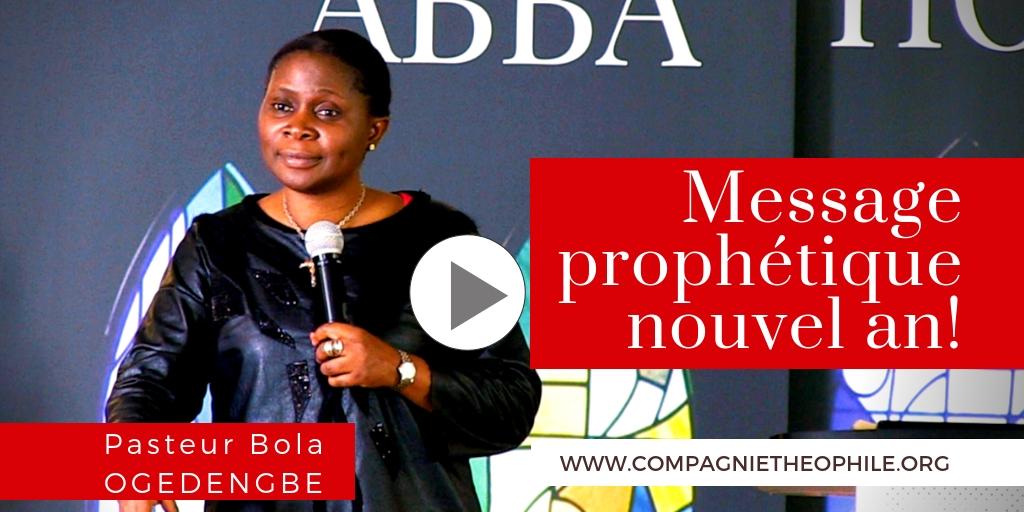 MESSAGE PROPHETIQUE NOUVEL AN