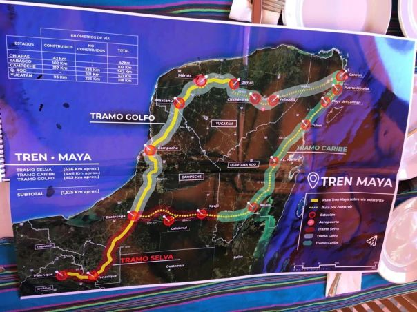 Indigenous groups reject Maya Train (Tren Maya) plan and ...