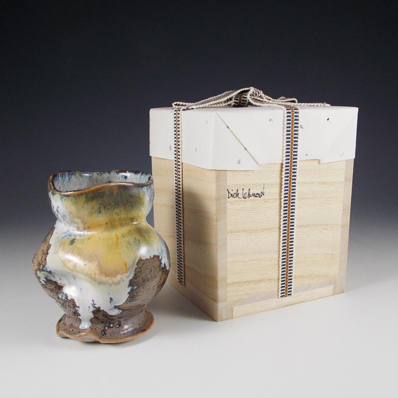 Triple Glazed Cup with Paulownia Box #dl83