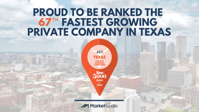 67the Fastest Growing Company Texas