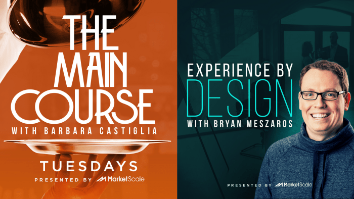 The Main Course and Experience by Design