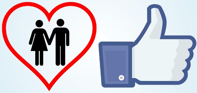 L'amour peut se concrêtiser sur Facebook