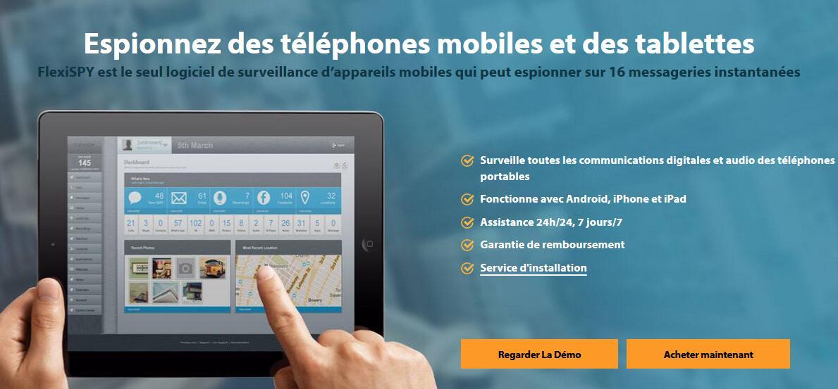 acheter un logiciel espion pour portable