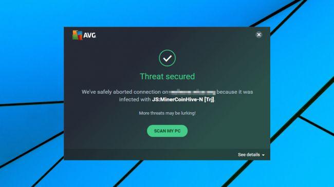 Test d'AVG AntiVirus Free