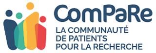 Logo du projet ComPaRe - Communauté de patients pour la Recherche