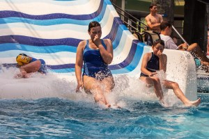 Waterslide Woman