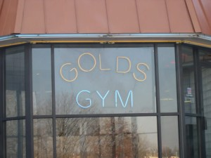 Golds sign