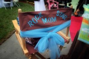 Rock Star Mom Chair