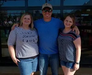 Look who contributor Brandi and her daughter got to meet on their visit to Waco!