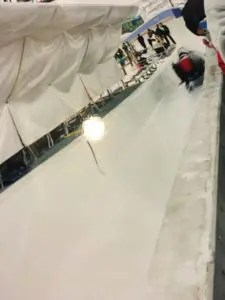 lessons learned at Olympics bobsledding Compared to Who