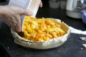 making-peach-pie