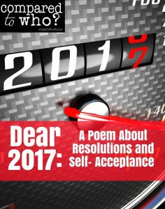 Did you make resolutions for 2017? Great poem of encouragement