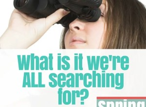 What are we all searching for