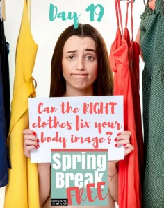 Does buying new clothes help your body image?