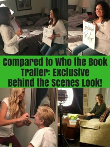 Compared to Who book trailer behind the scenes
