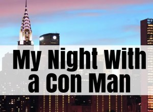 my night with a con man
