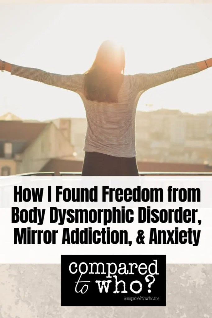 Freedom from BDD and Anxiety story of woman
