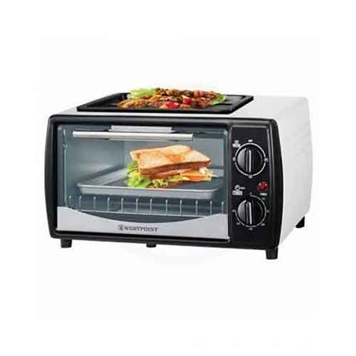 westpoint wf 1000d 10 ltr microwave oven toaster with hot plate white