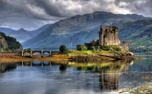 Maybe Scottish landscapes are peaceful, but the situation inside the country is definitely not