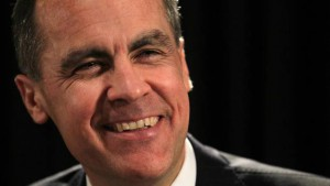 Mark Carney, gubernator BoE