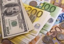 euro i dolary banknoty
