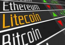 Kurs kryptowalut Ethereum ETH Litecoin LTC Bitcoin BTC