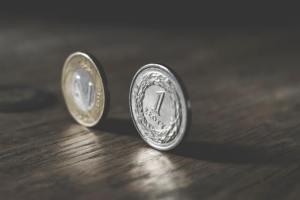 Złotówka i dwa złote kursy walut