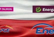 Tauron, PGE, Energa, Enea