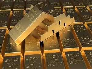 Rynek złota z testem ważnego oporu