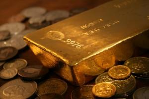 Kurs złota rośnie pomimo niepewności na globalnych rynkach finansowych