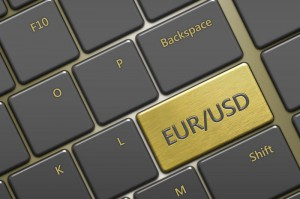 Kurs euro silnie w dół podczas sesji USA. Spadek wartości EUR/USD