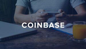 Logo giełdy coinbase