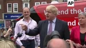 Brexit do 31 pażdziernika? Johnson chce zostać premierem