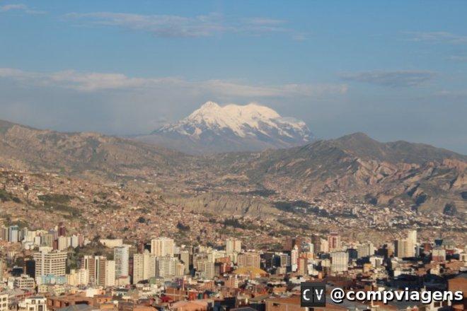 La Paz vista de El Alto