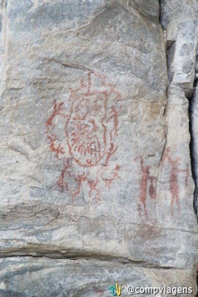 Pinturas rupestres no Xique-xique 1
