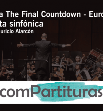 Partitura The Final Countdown