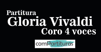 Partitura Gloria Vivaldi