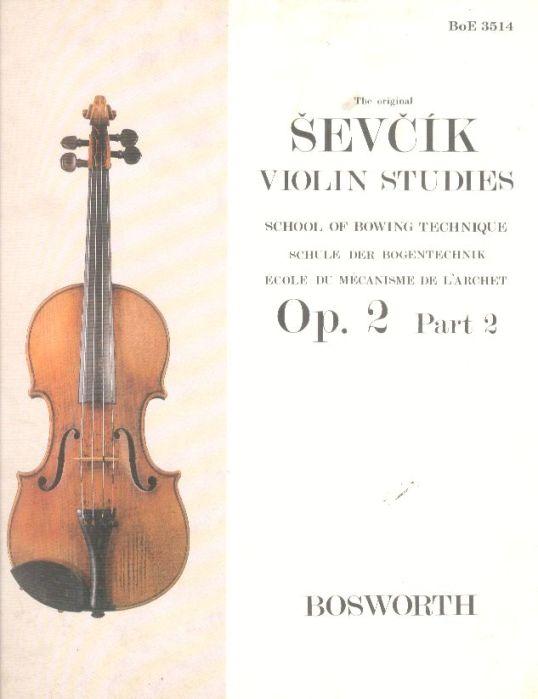 Sevcik School of Bowing Technique, Op. 2