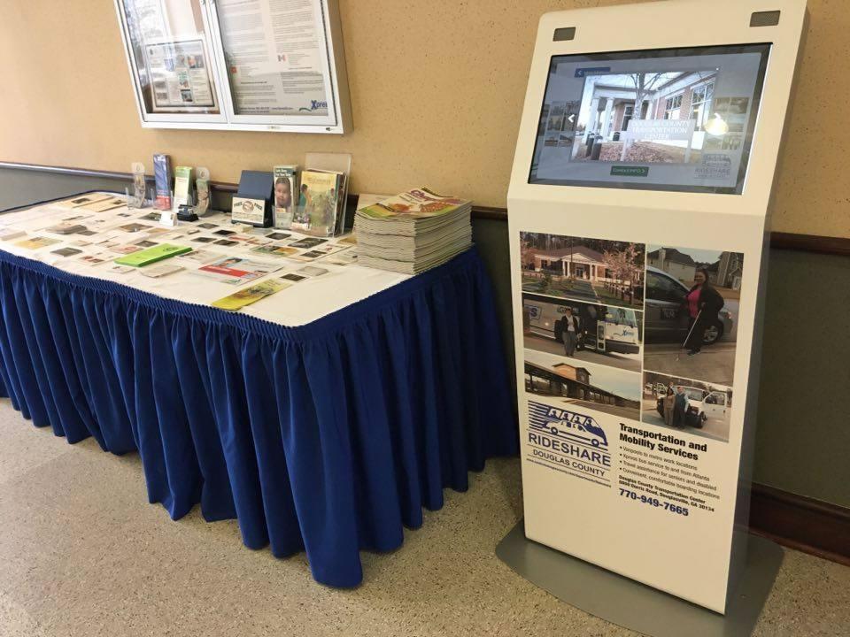 douglasville douglas county rideshare kiosk project